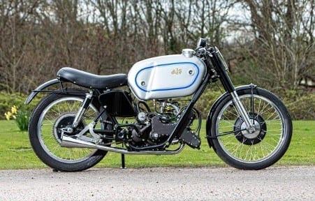 c.1946 AJS 497cc E90 'Porcupine' Grand Prix Racing Motorcycle, estimate £250,000 –300,000